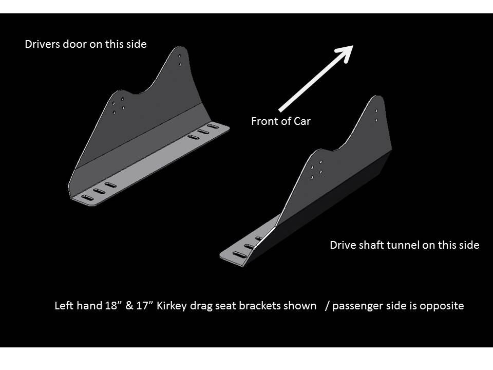 SEAT BRACKET KIT